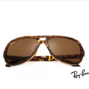 Ray Ban RB4162 Cats 5000 Tortoise Sunglasses